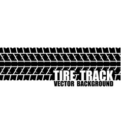 black text tire track vector image