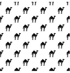 camel pattern vector image