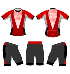 Clothing sports vector image