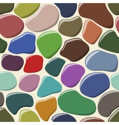 Cobblestone seamless background vector image