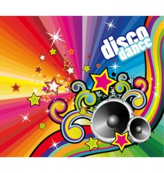 dance dj vector image