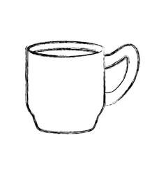 delicious coffee cup vector image