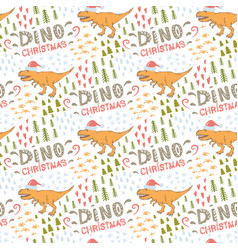 dino pattern seamless pattern with vector image