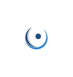 Letter o logo design template vector