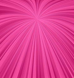 Pink abstract burst design vector