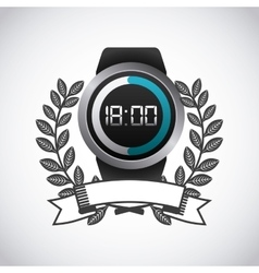 smart watch for sport vector image