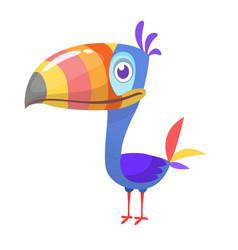 Toucan cartoon icon toucan bird vector
