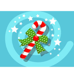 Candy icon christmas vector image vector image