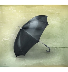 Umbrella old-style vector image vector image