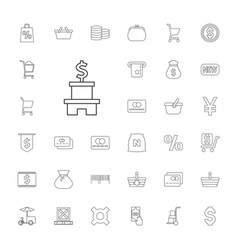 33 buy icons vector