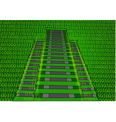 Abstract building and binary code vector
