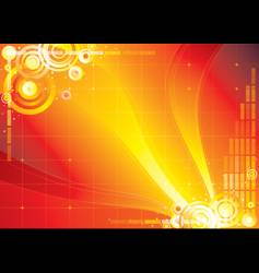 abstract infinity background vector image