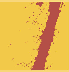 blood on a yellow vector image