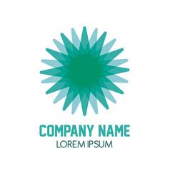 company name symbol vector image