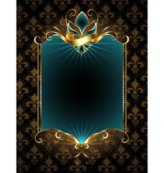 Design with Fleur De Lis vector image