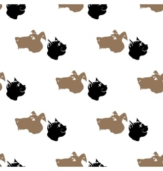 Dog Cat Seamless Animal Pattern vector