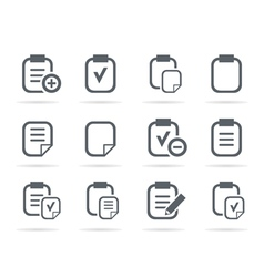 File an icon vector image