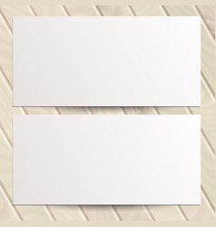 Identity design templates blank white paper flyer vector