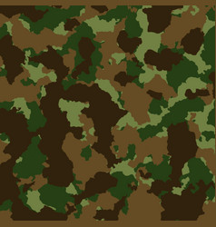 Military or hunting camouflage background texture vector
