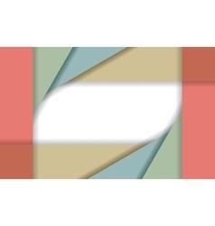 Paper frame for scrapbook vector