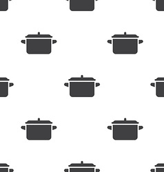 pot seamless pattern vector image