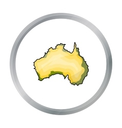 Territory of Australia icon in cartoon style vector image