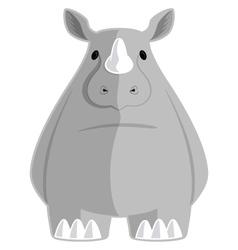 The Rhino vector image
