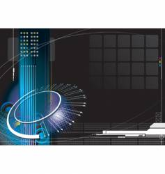 high-tech infinity vector image vector image