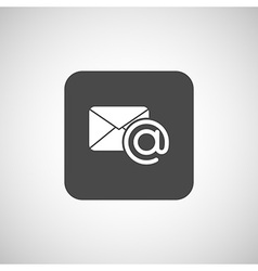 email icon outbox flat box inbox vector image