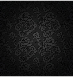floral filigree background vector image