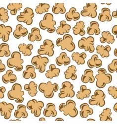 Popcorn seamless vector