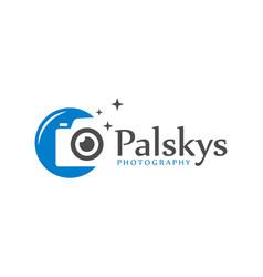 Professional photo photography symbol logo vector