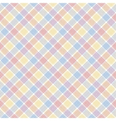 Red blue and yellow checkered colorful seamless vector