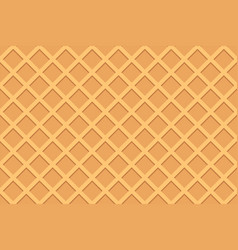 seamless pattern of waffle vector image