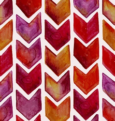 Seamless Watercolor Geometric Pattern vector image
