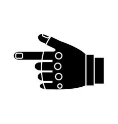 sport gloves design vector image