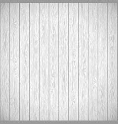 white wood texture template eps 10 vector image