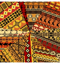 ethnic motifs vector image vector image
