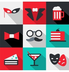 Celebration icon vector image