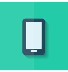 Smartphone Icon Mobile phone Flat design vector image