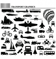 transport graphics vector image vector image