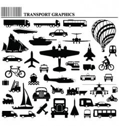 transport graphics vector image