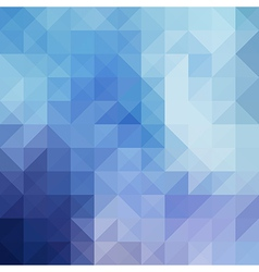 Abstract background from triangle shapes vector image