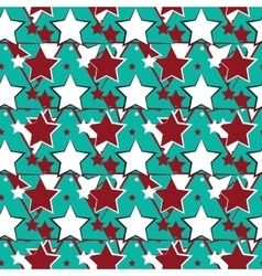 Abstract geometric pattern a seamless background vector