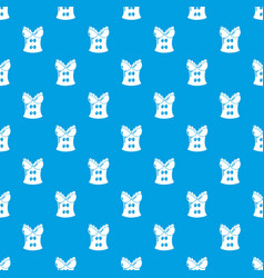 Brassiere shop pattern seamless blue vector