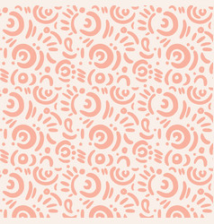 cartooon doodle elements funny print vector image