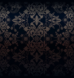 damask for web cards vector image
