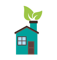 eco friendly icon image vector image