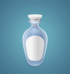 Empty bottle vector