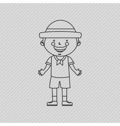 Field day icon design vector